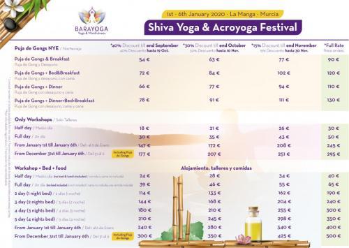 Price Shiva Festival